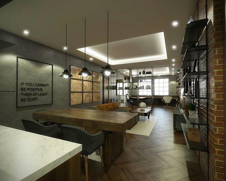 Meeting Room:  Ruang Kerja by Desain Konstruksi Arsitektur