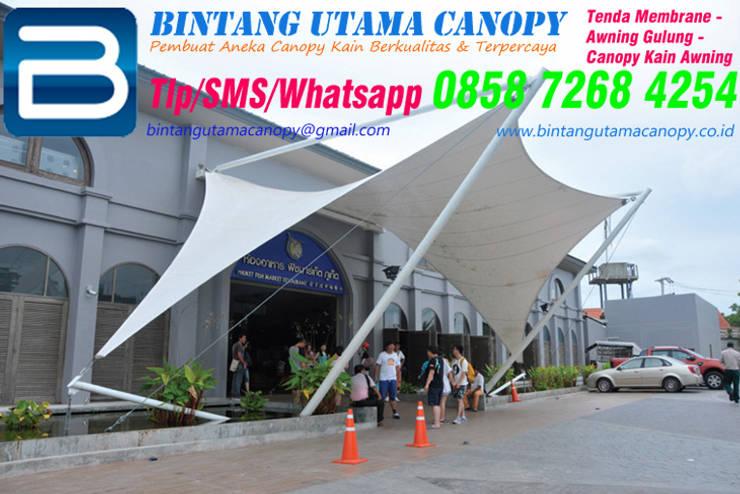 Atap gable by Bintang Utama Canopy