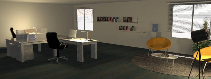 Oficinas Millennials Coworking: Oficinas y Tiendas de estilo  por Minimalistika.com