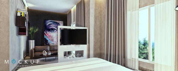 Modern style bedroom by Mockup studio Modern