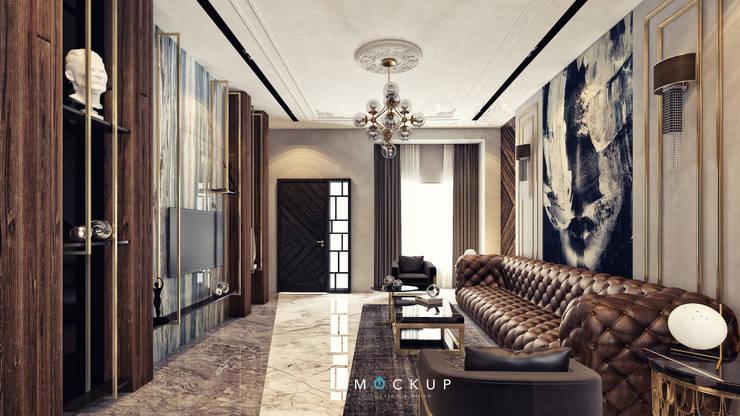Living room by  Mockup studio
