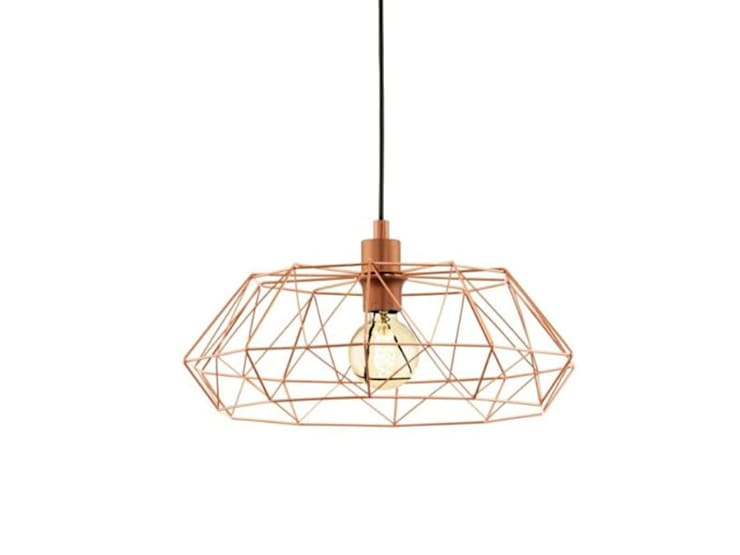 Vintage style lighting fixture: minimalistic Kitchen by Elettrico Lighting LLC