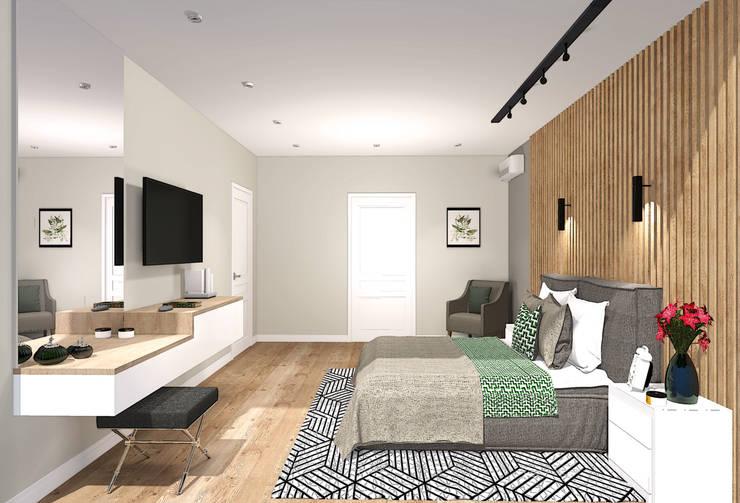 Bedroom by Екатерина Александрова, Eclectic