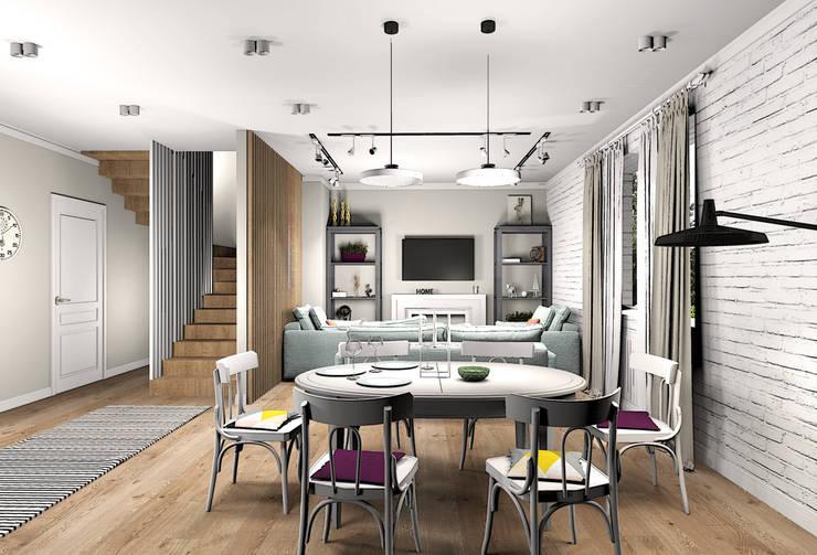 Living room by Екатерина Александрова, Eclectic
