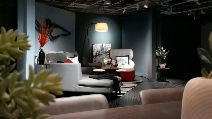 傢物室:  客廳 by 安提阿設計有限公司