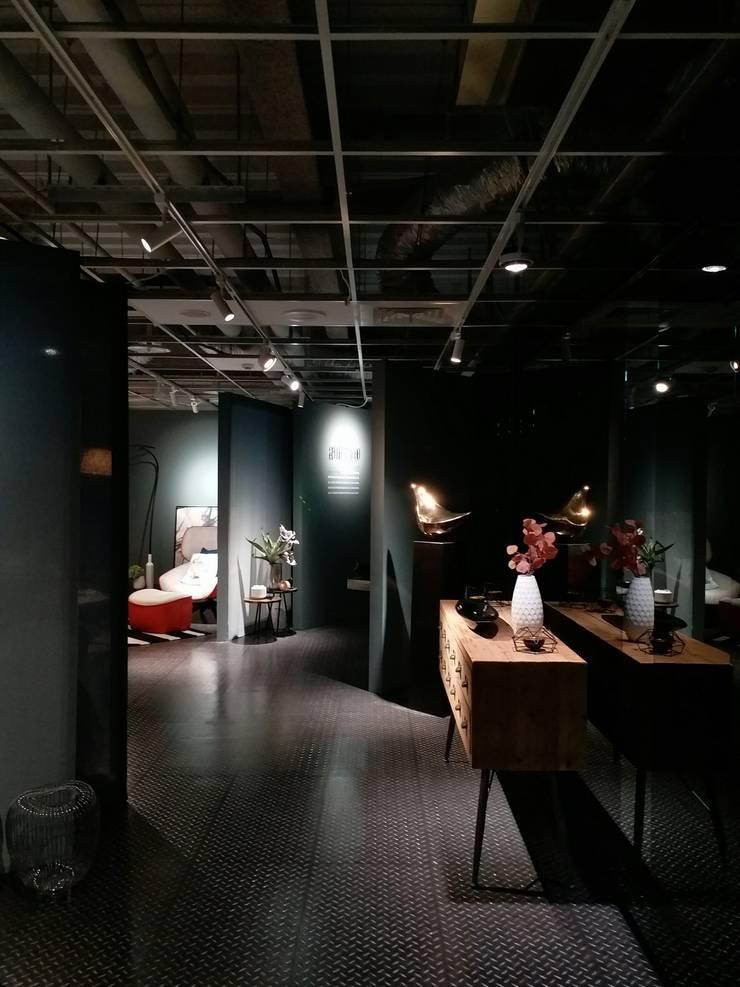 傢物室:  走廊 & 玄關 by 安提阿設計有限公司