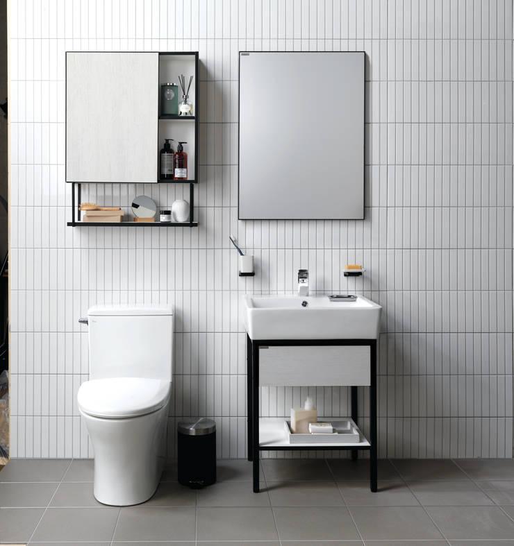 Baños de estilo  de inus