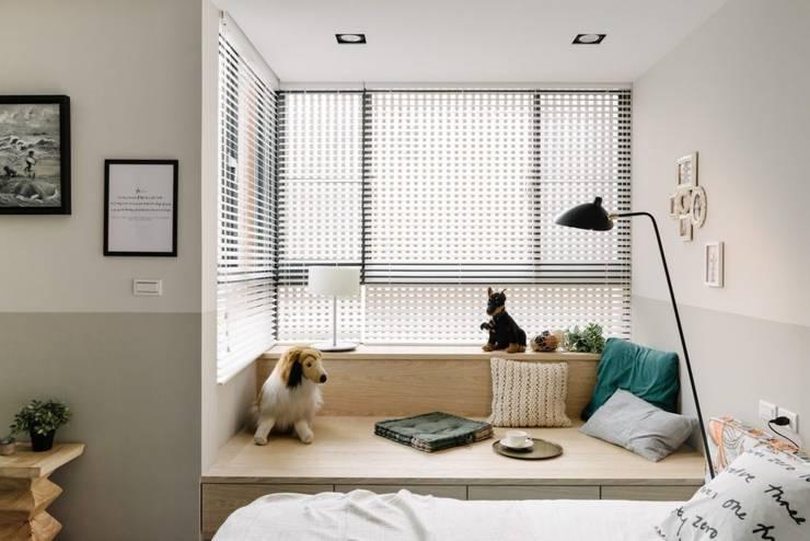 家,就是最真實的美好-百葉簾.蜂巢簾:  百葉窗 by MSBT 幔室布緹