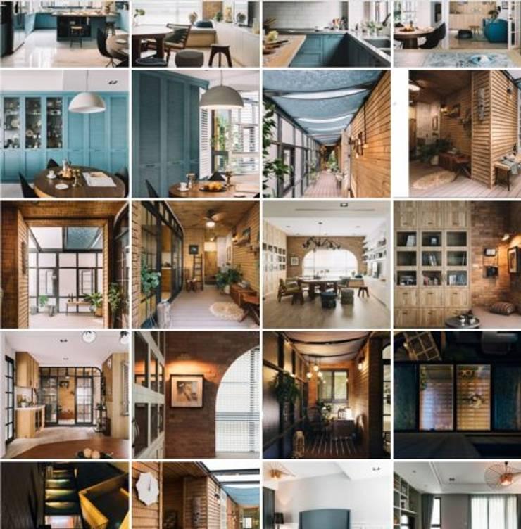 家,就是最真實的美好-百葉簾.蜂巢簾:  室內景觀 by MSBT 幔室布緹