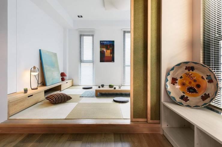 家,就是最真實的美好-百葉簾.蜂巢簾/ 空間構成:HAO Design 好室設計:  室內景觀 by MSBT 幔室布緹