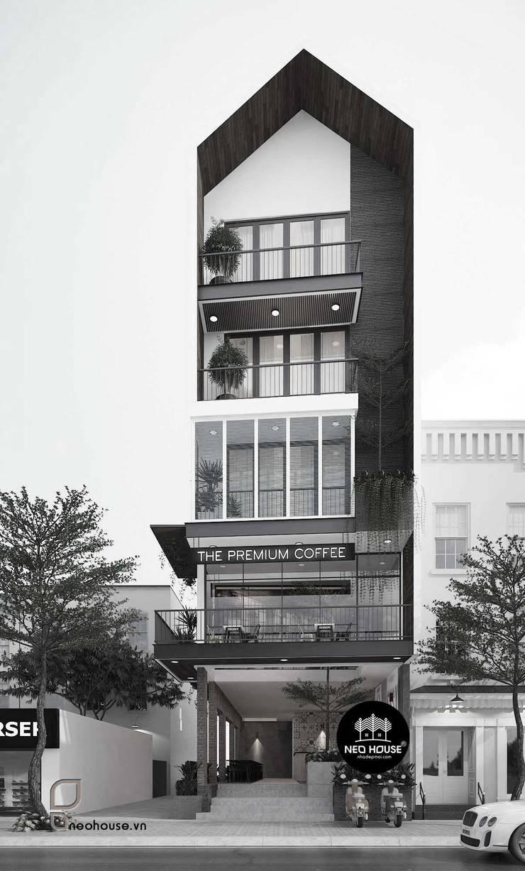 Biệt Thự Hiện Đại Kết Hợp Kinh Doanh:   by NEOHouse