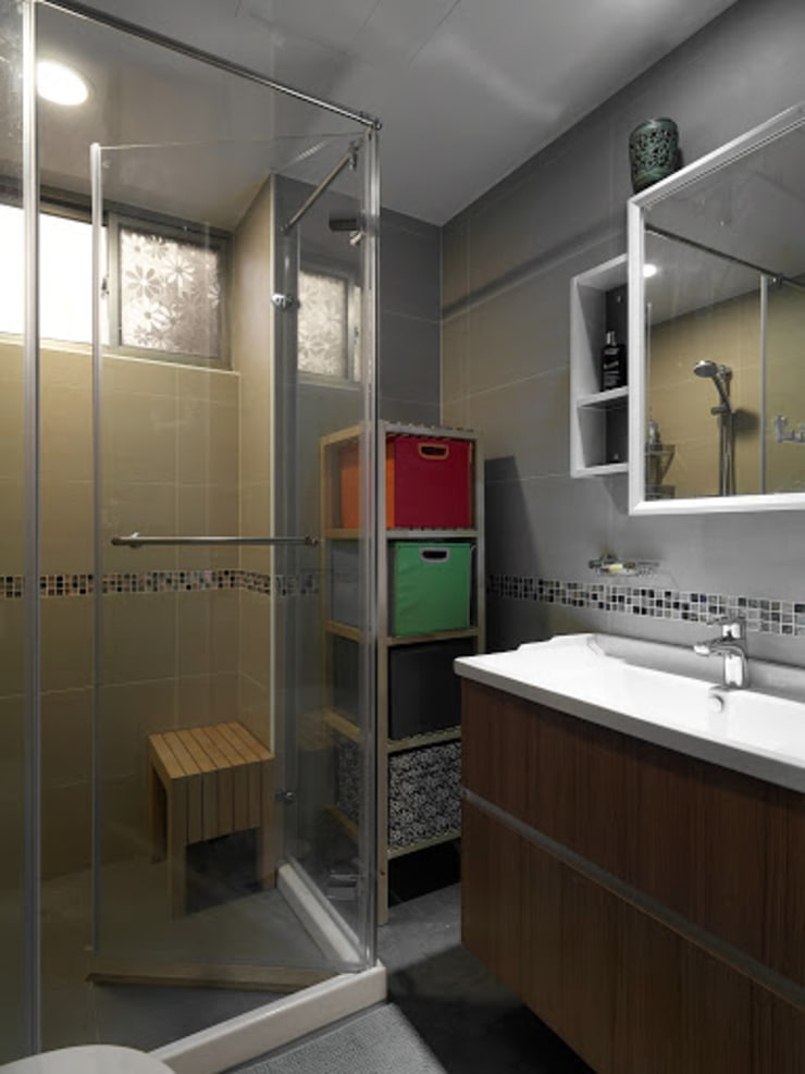 Bathroom by TGDesgin.Studio,