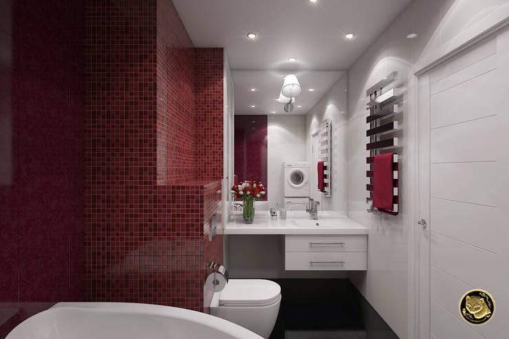 Свежесть: Ванные комнаты в . Автор – Zibellino.Design
