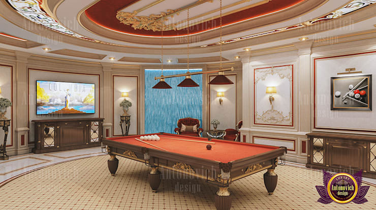 Extravagant Interior Design:   by Luxury Antonovich Design