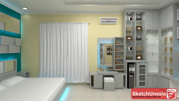 Kamarseet_interior design @sweet home:  Bedroom by Sweethome.co.id