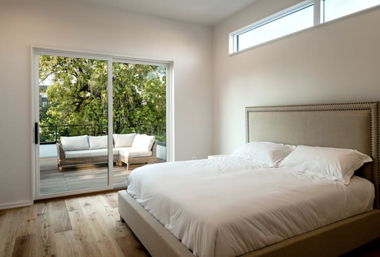Kenyon St: modern Bedroom by KUBE Architecture
