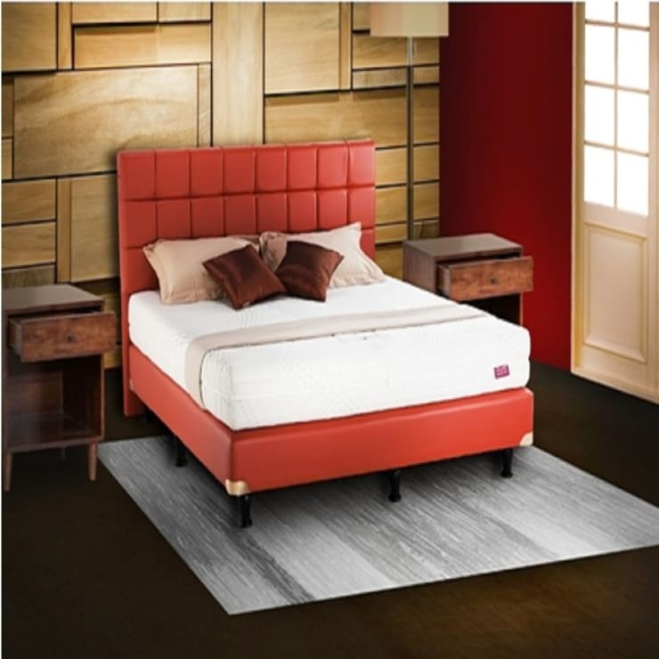 Full Latex Mattress :  Bedroom by Violand