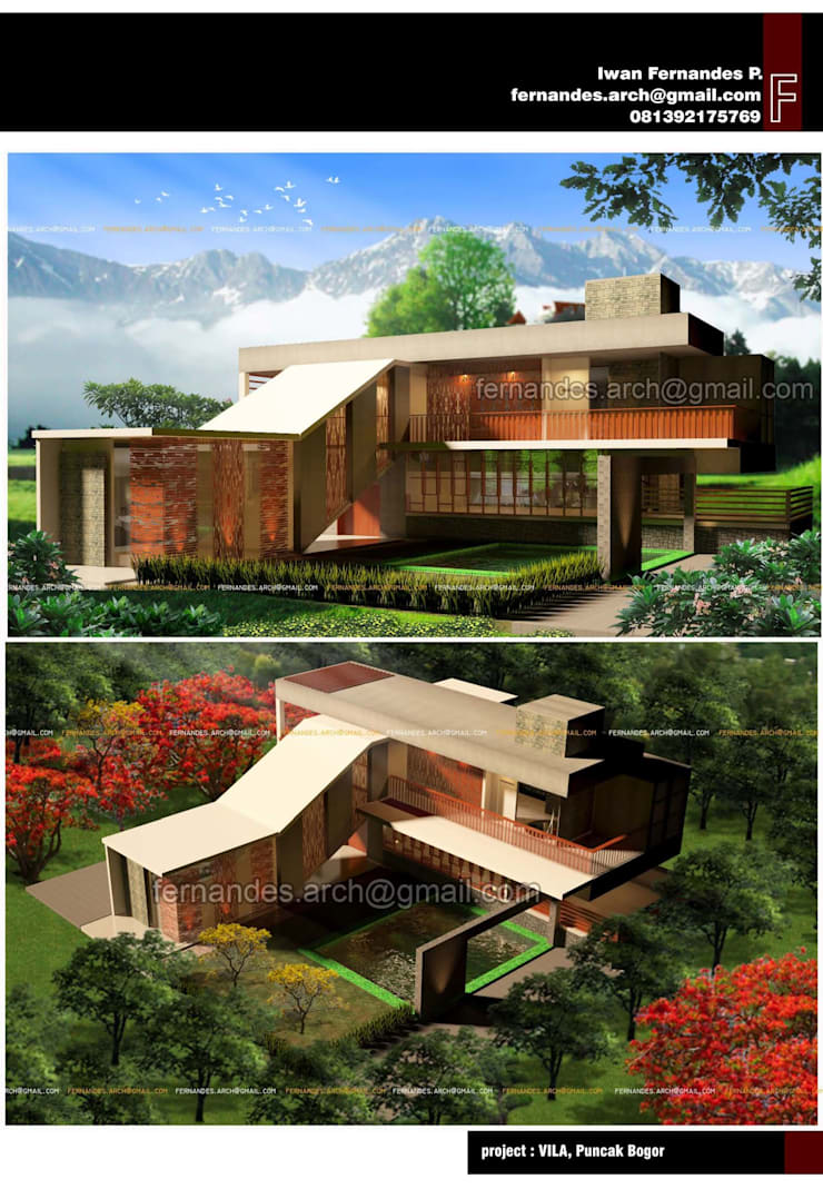 Fernandes Arch:  Rumah by fernandes.arch