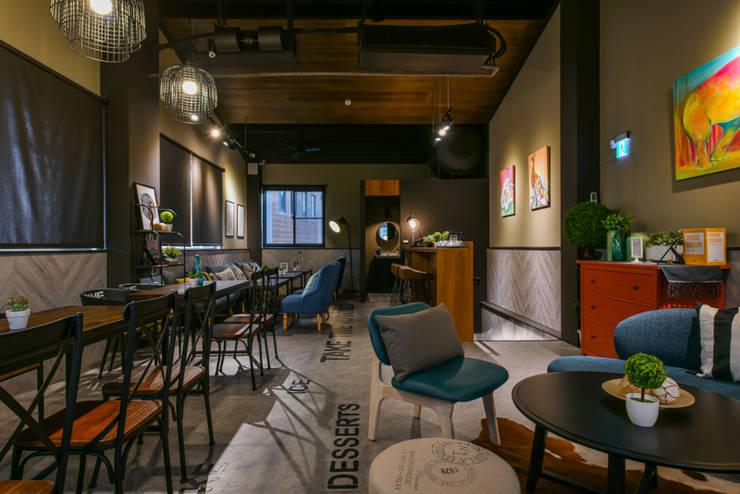 慢時光:  餐廳 by 安提阿設計有限公司