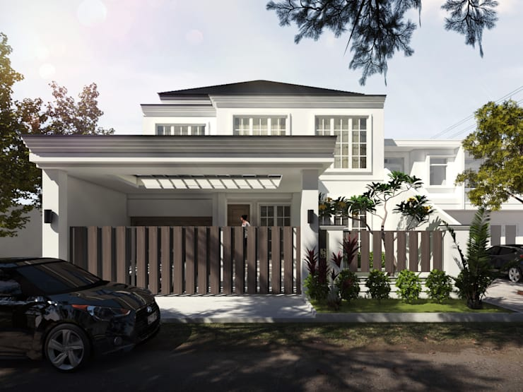 W House:  Rumah tinggal  by Atelier BAOU+