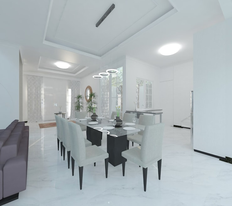 Ruang Makan :  Ruang Makan by Atelier BAOU+