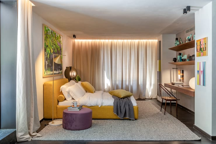 Schlafzimmer von Gisele Taranto Arquitetura, Modern