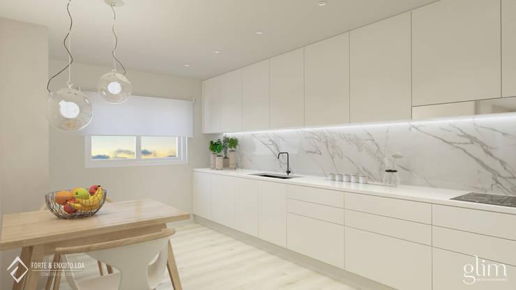 PROJETO DE COZINHA MODERNA: Cozinha  por Glim - Design de Interiores