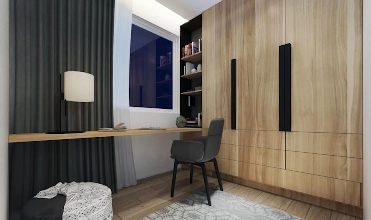 Ruang kerja:  Ruang Kerja by Jati and Teak
