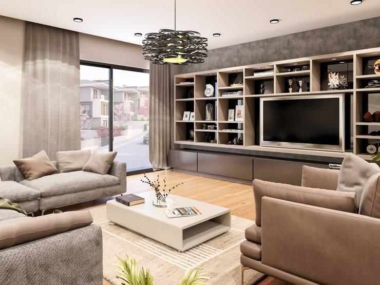 Salas de estar  por ANTE MİMARLIK