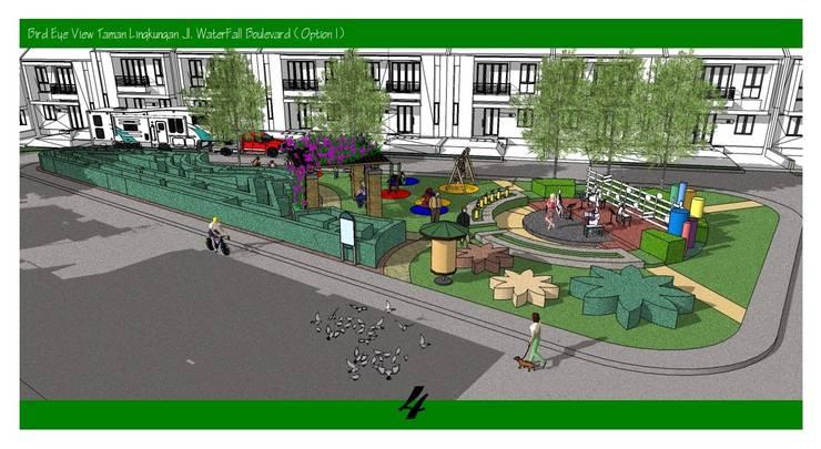 Landscape Urban Cluster:   by Cipta Kreasi Flora