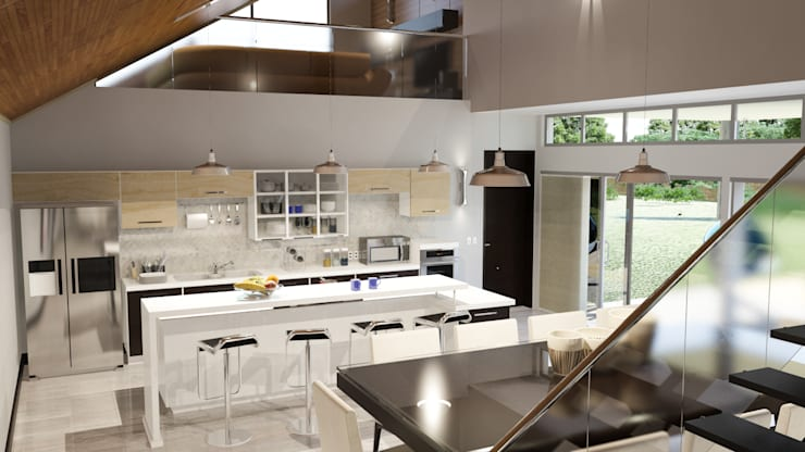 Our Collection:  Kitchen by The Creative Axis Free State & Northern Cape, Modern