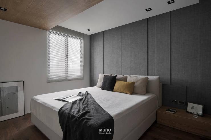 L宅_線。域:  臥室 by 沐禾設計事務所