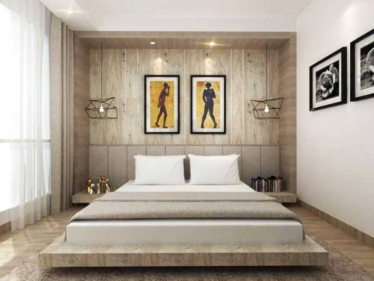 Apartment Senanyan:  Kamar Tidur by iwan 3Darc