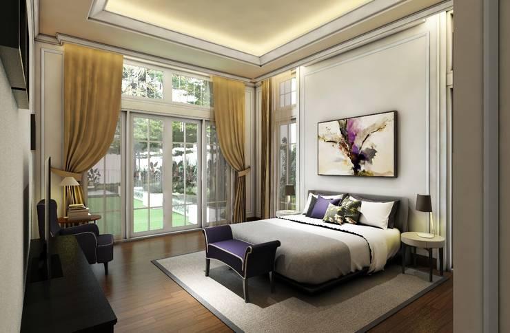 Rumah Darmo Brawijaya:  Kamar Tidur by iwan 3Darc