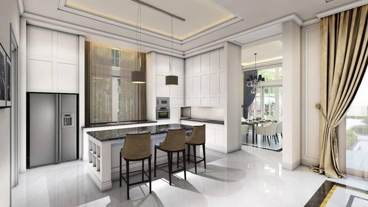 Rumah Darmo Brawijaya:  Dapur by iwan 3Darc