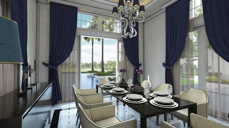 Rumah Darmo Brawijaya:  Ruang Makan by iwan 3Darc