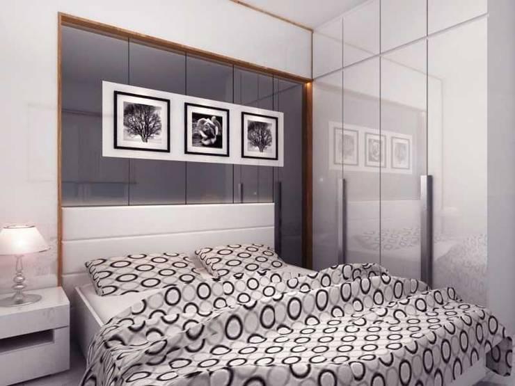 Rumah Tinggal Kemang:  Kamar Tidur by iwan 3Darc