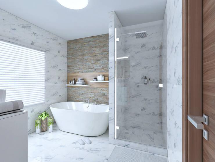 Common bathroom view 1:   by Linken Designs