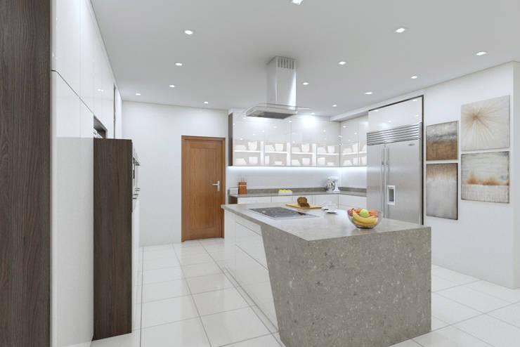 Kitchen View 3:   by Linken Designs