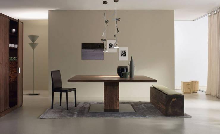 RIVA 1920意大利家具原木品牌,現代風格實木家具:  客廳 by 北京恒邦信大国际贸易有限公司