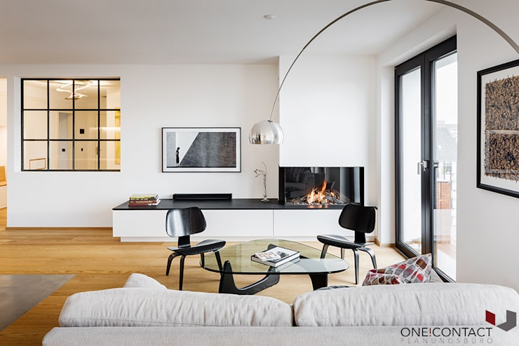 ONE!CONTACT - Planungsbüro GmbH의  거실
