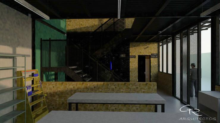 Corridor & hallway by GT-R Arquitectos