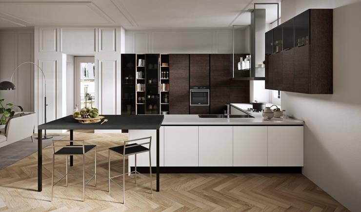 Cocina Aran Cucine: Cocinas equipadas de estilo  por 30.Treinta