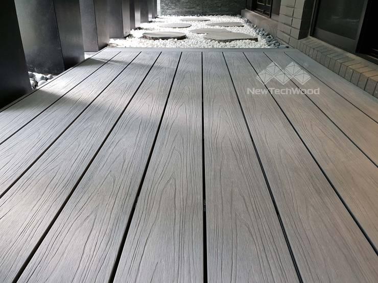 長虹天馥─塑木地板:   by 新綠境實業有限公司