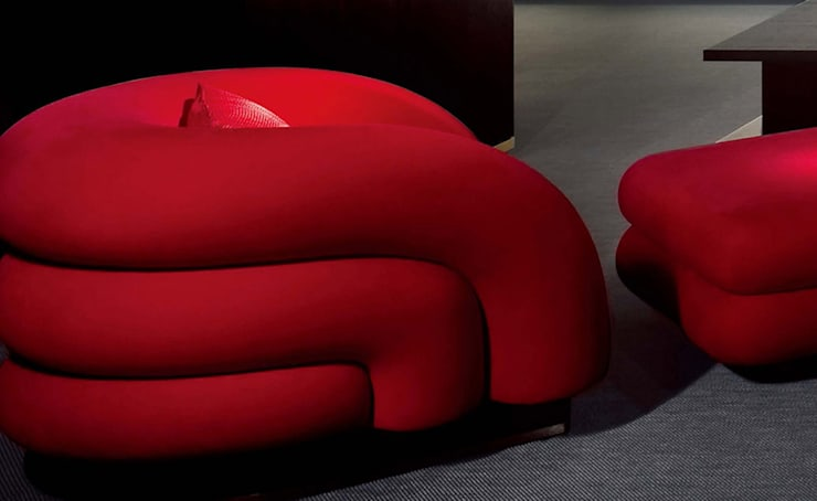 Armani Casa家具意大利品質,簡約時尚設計:  客廳 by 北京恒邦信大国际贸易有限公司