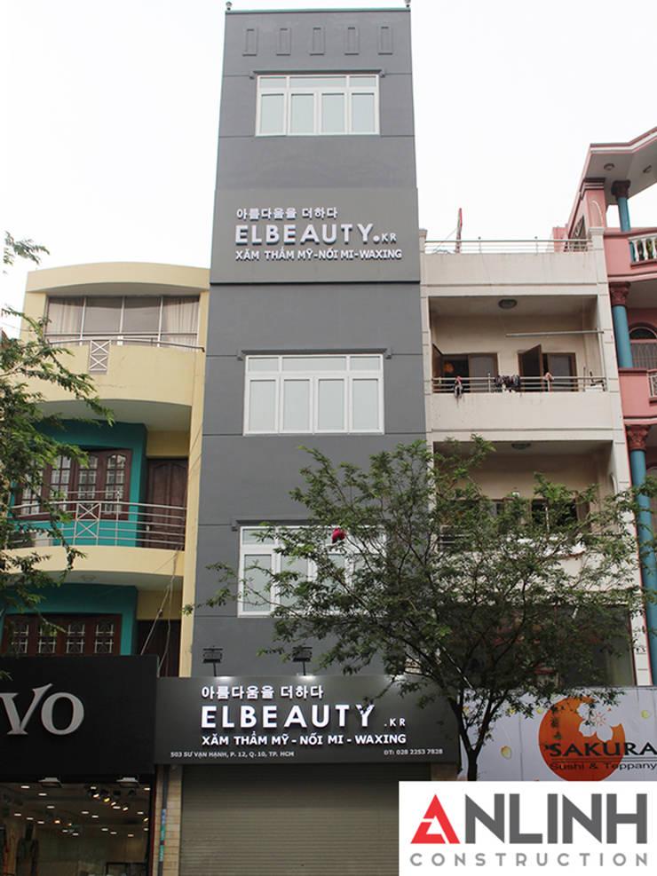 Công Trình Spa ELBEAUTY  - Sư Vạn Hạnh:   by CÔNG TY THIẾT KẾ XÂY DỰNG AN LĨNH