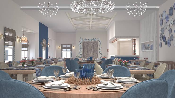 Comedores de estilo  por Bej Mimarlık, Mediterráneo