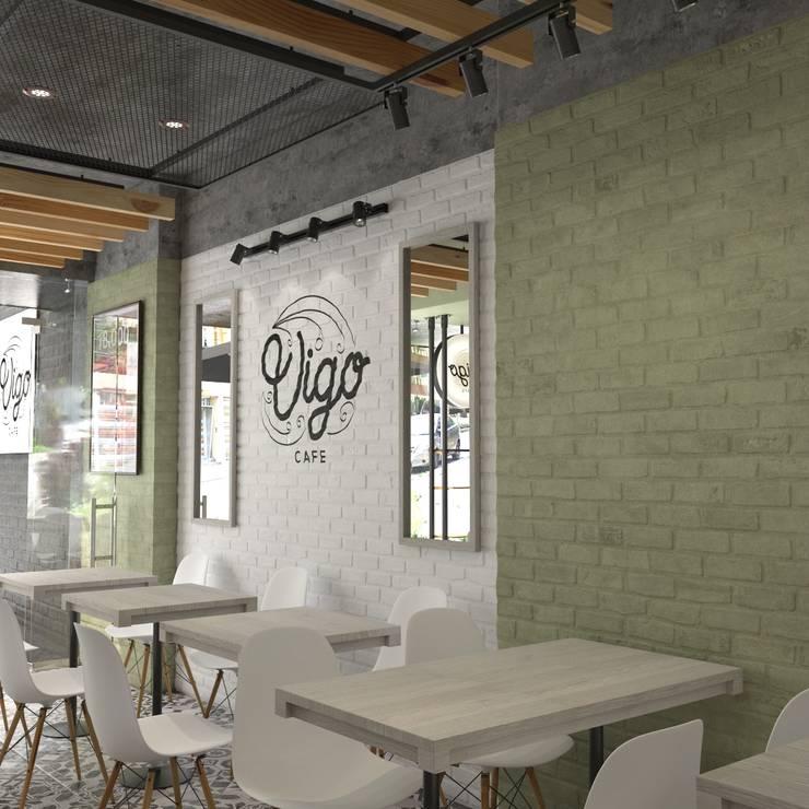 Vígo - Interior:  de estilo  por Roque_industrial_design, Moderno