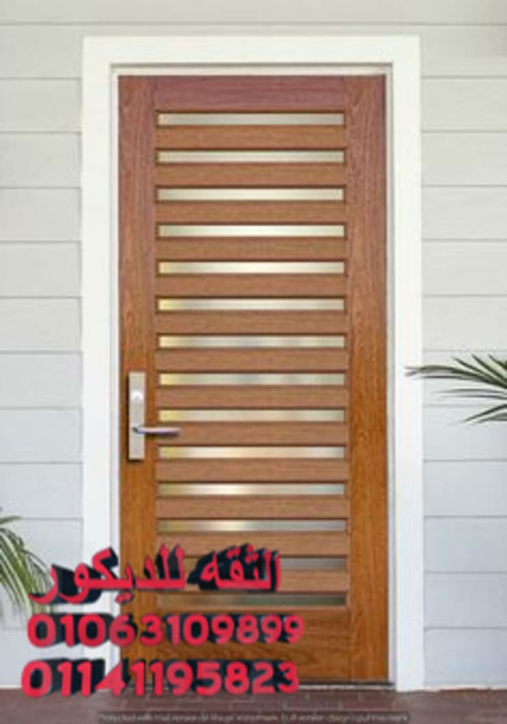 ابواب خشب مصريه: كلاسيكي  تنفيذ شركه الثقه للديكور, كلاسيكي خشب Wood effect