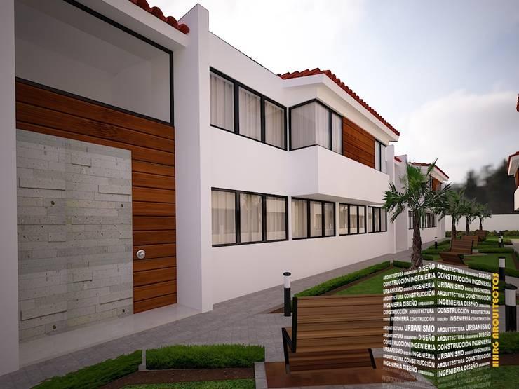 Terrace house by HHRG ARQUITECTOS, Modern